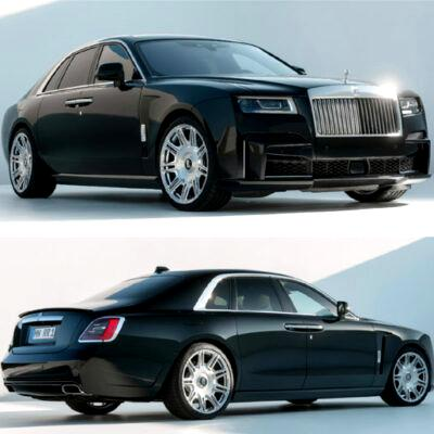SPOFEC gives Rolls-Royce Ghost more power, appearance