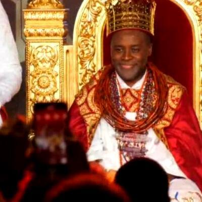 PHOTOS: Tsola Emiko is crowned Ogiame Atuwatse III