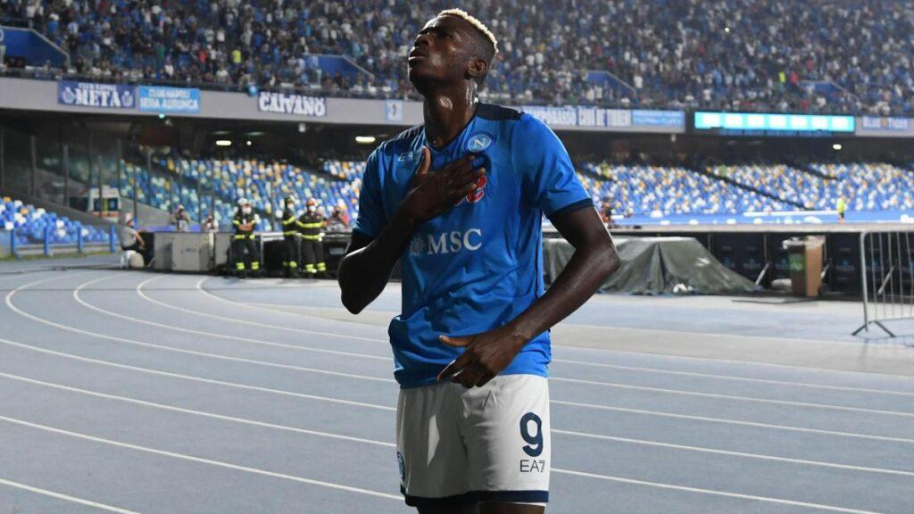 Osimhen continues red-hot scoring form to inspire Napoli to 2-0 win
