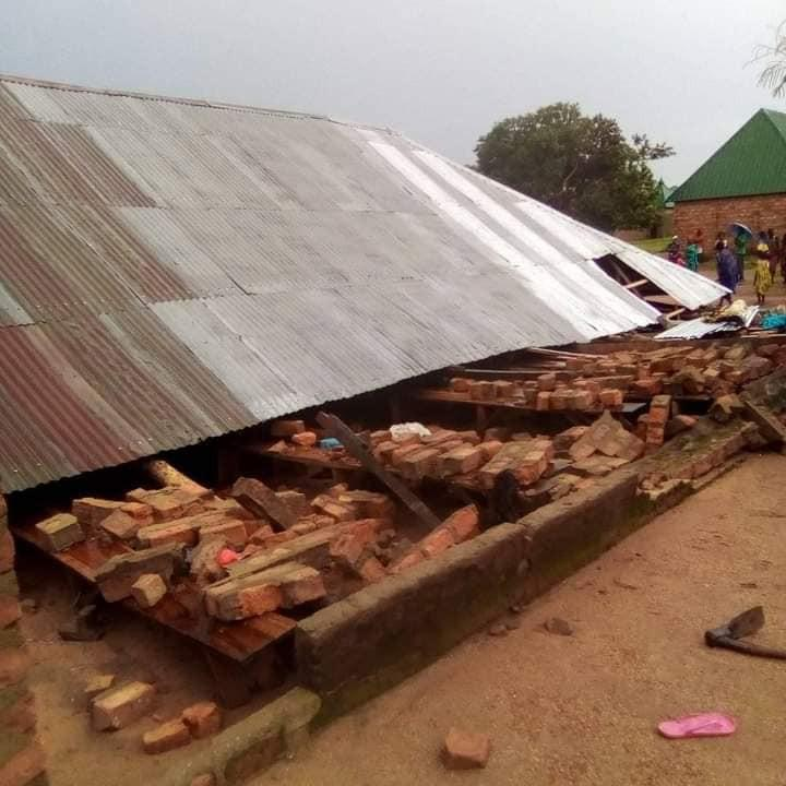 Days after, Taraba residents still mourn death of two in church building collapse following a rainstorm