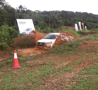Smokin Hills Resort Motorsport organisers thumbs up for Toyota Nigeria founder