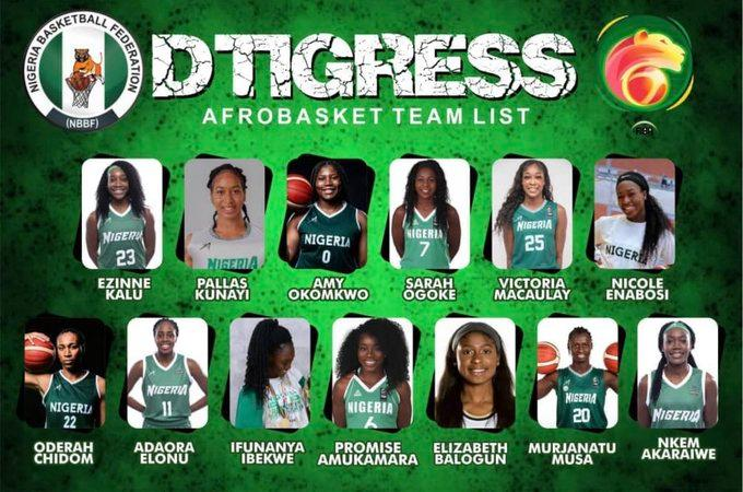 AFROBASKET: Reigning champions, D'Tigress open title defence against Mozambique