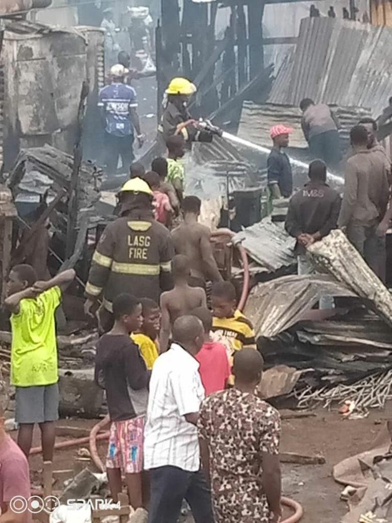 Again, fire razes Oko Baba Sawmill in Lagos