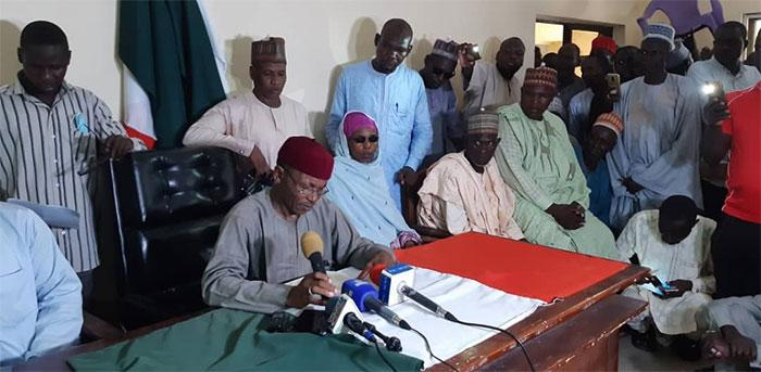 Borno PDP suspends guber candidate, others; impossible, they respond
