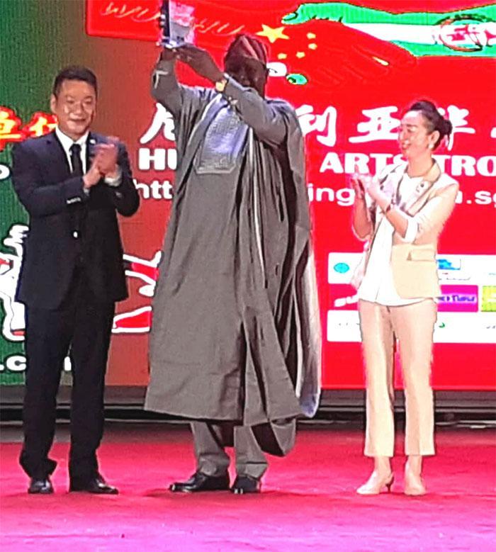 Otunba Segun Runsewe wins China Man of the Year award