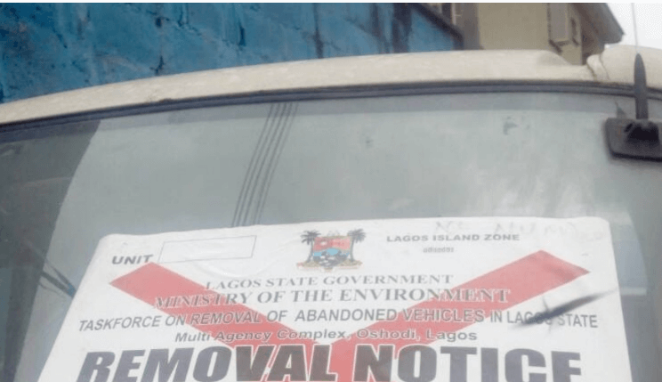Lagos suspends operation of abandoned vehicles team across 57 councils