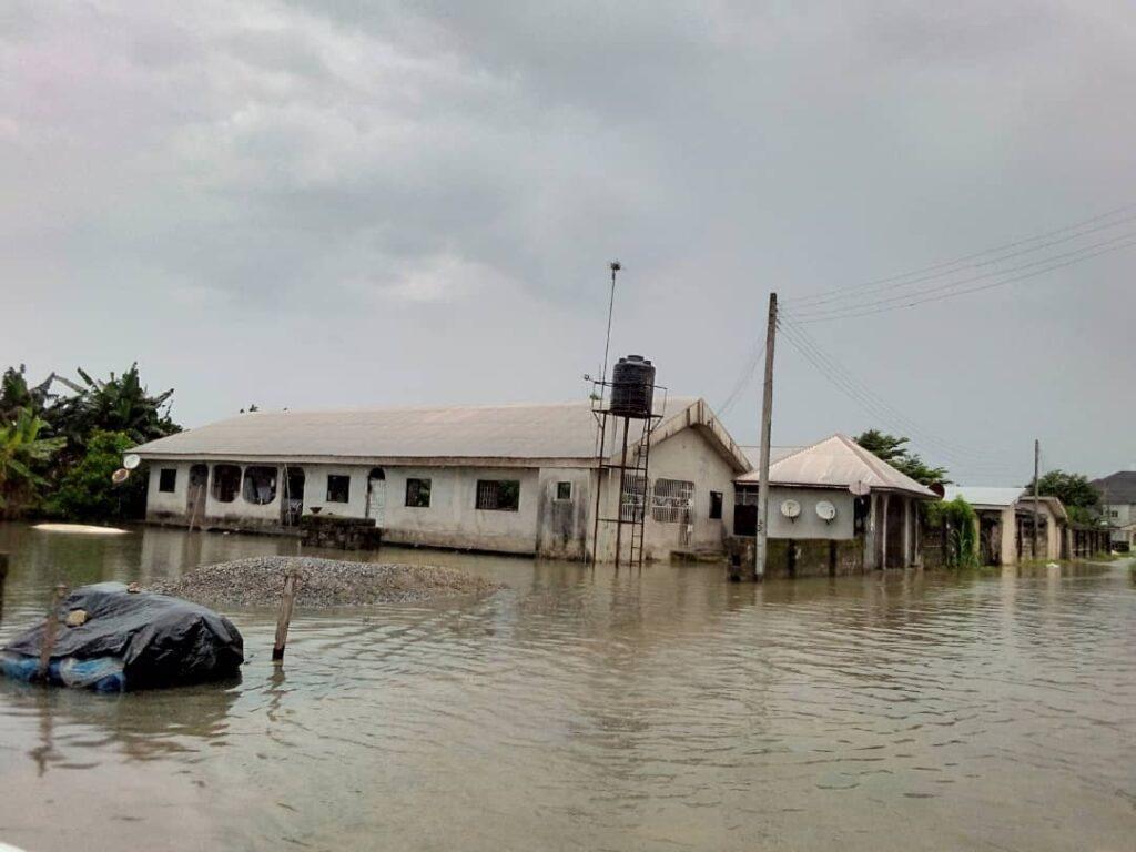 Flood wreaks havoc in Ughelli, thousands rendered homeless