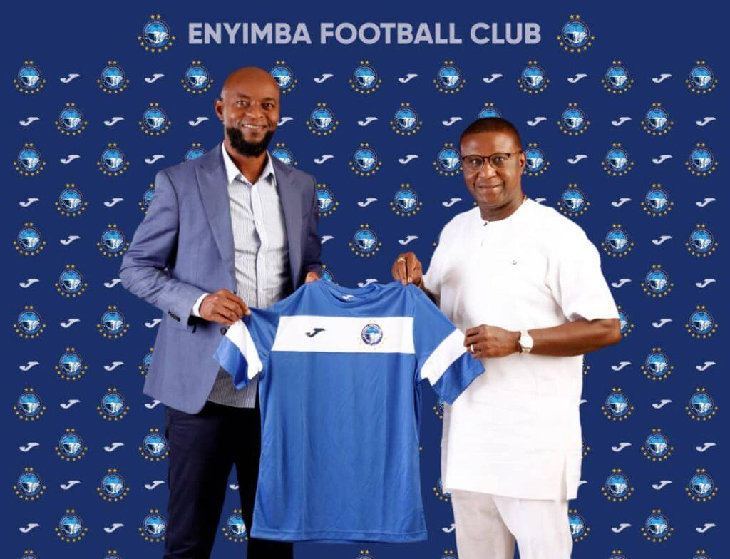 I'm at Enyimba to win, says Finidi