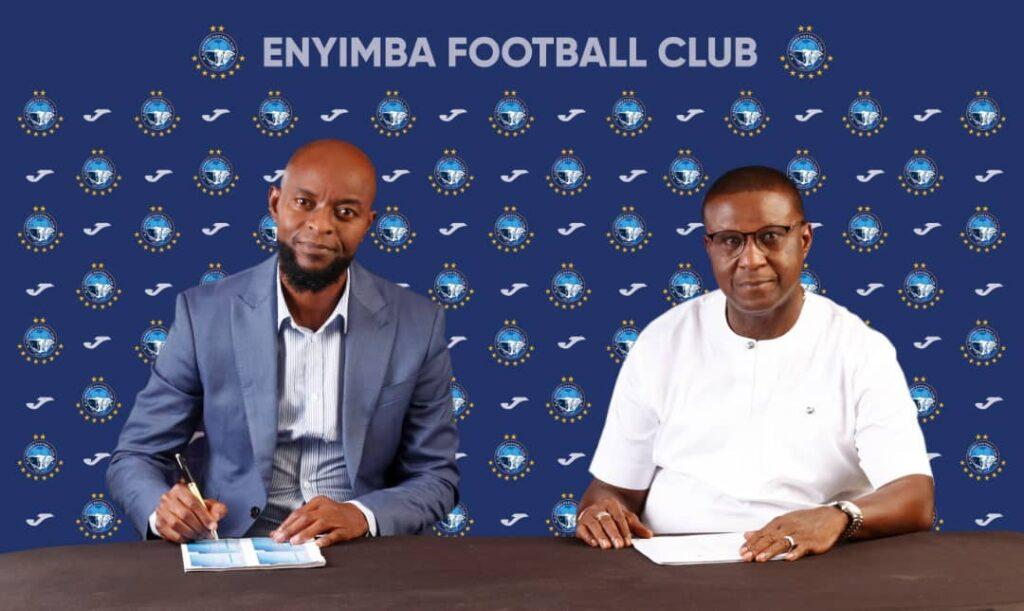 Finidi George seals Enyimba deal