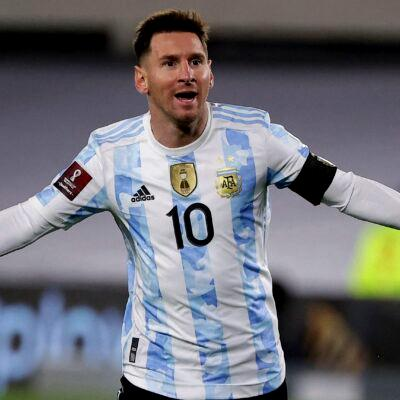 GREATNESS: Messi scores hatrick to break Pele's South American record