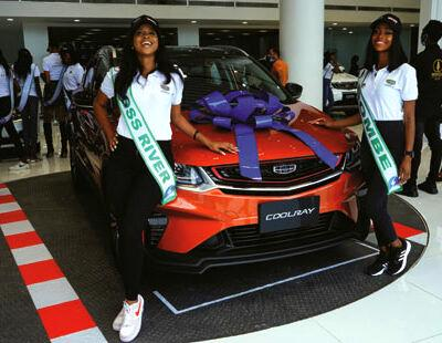 Most Beautiful Girl Pageant paints Lagos red with Geely cars