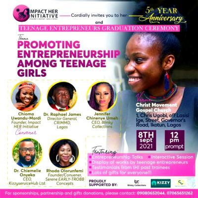 Impact Her Initiative marks 5th anniversary with menstrual hygiene talk, graduation of entrepreneurs
