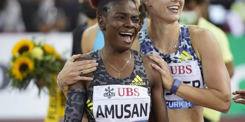 DIAMOND LEAGUE: Amusan reacts to historic victory, setting African record