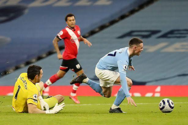 VAR drama as Man City drop points in 0-0 draw with Southampton