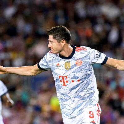 BAR 0-3 BAY: Lewandowski brace sinks Barca at Camp Nou