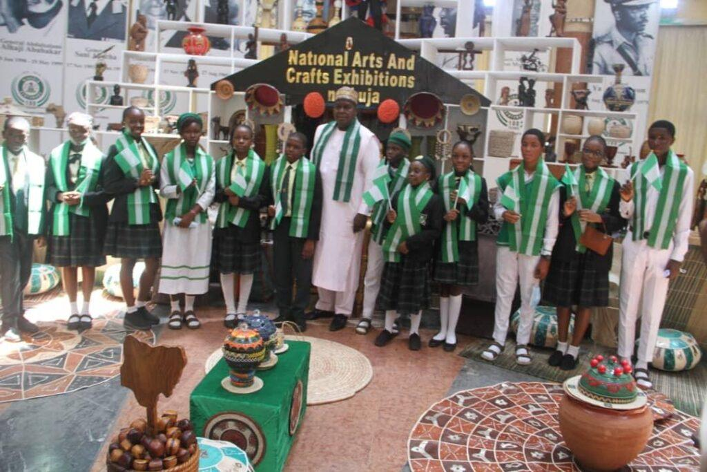 Youths and students celebrate Nigeria @ 61