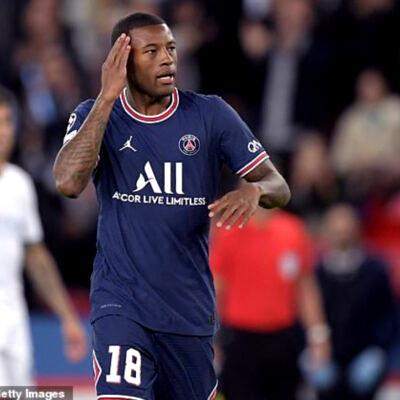 I'm not happy at PSG — Wijnaldum