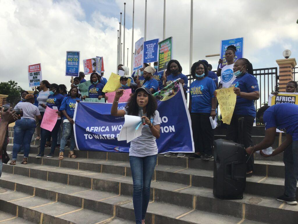Women storm Alausa, petition Sanwo-Olu over water privatisation