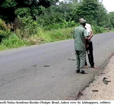 Motorists, communities flee as gunmen take over Benue road