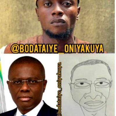 Governor Sanwo-Olu's invitation to caricature artist sparks reactions