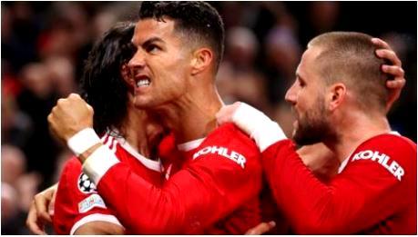 Ronaldo scores winner, as Man Utd fight back against Atalanta