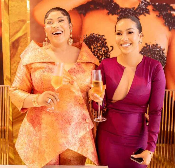 Glitzy atmosphere as BBNaija Maria joins Hush'D Makeovers' family