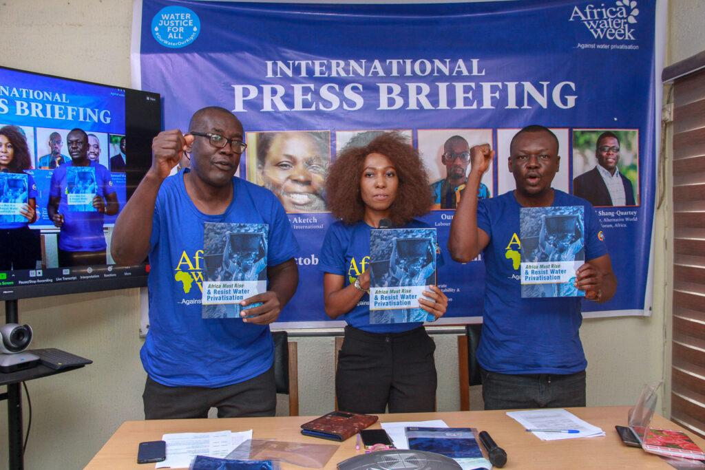 Africa water activists resist corporate privatisation as World Bank meets