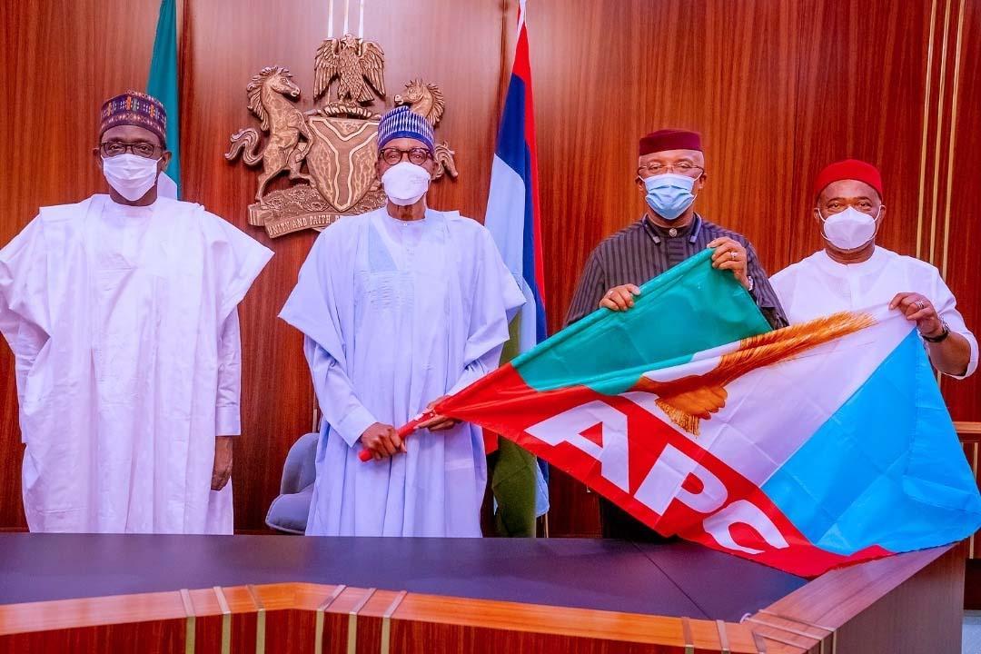 Anambra Deputy Governor dumps APGA, decamps to APC