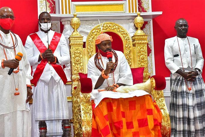 PHOTOS: Olu of Warri's abolition of Ologbotsere title