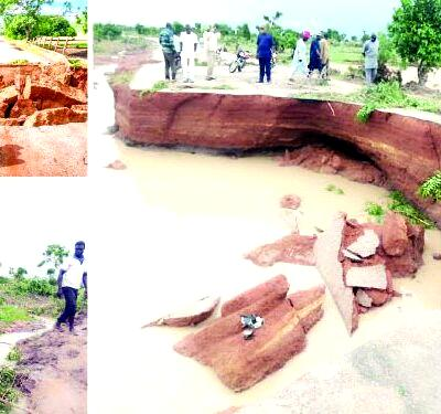 Commuters groan as 42-year-old Taraba link road to FG's $5.8bn power plant collapses